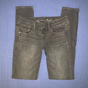 American Eagle Grey Jeans